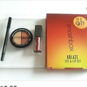 Smashbox Ablaze Eye and Lip set